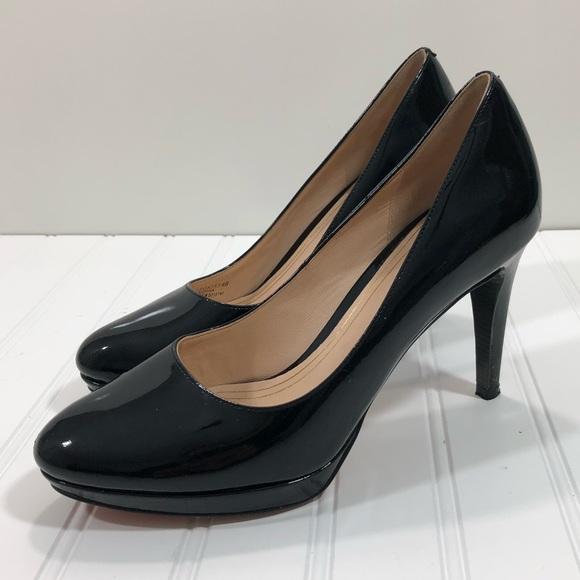 Cole Haan Shoes Cole Haan Women Heels Nike Air Black Patton Poshmark